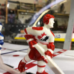 Super Chexx ice hockey with Canada branding San Francisco rental event by Video Amusement