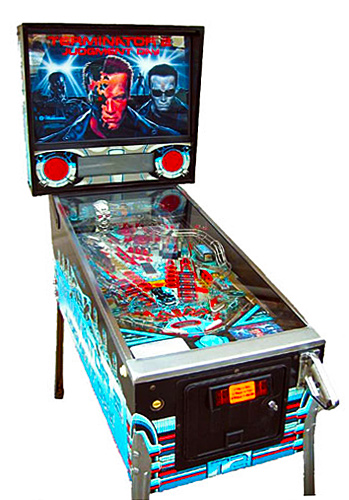 Terminator 2: Judgment Day pinball - classic Pinball Collection