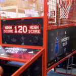Welcome to LA branded Super Shot Basketball for All Star Game Rental from Video Amusement
