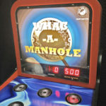 Whac a Manhole Interactive Arcade Game Rental California from Video Amusement