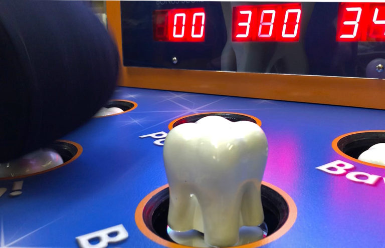 Whack-a-Molar-branded-game-for-a-dentist-office-in-Sacramento