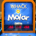 Whack a Molar branded game for a trade show in Anaheim