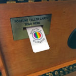 Zoltar Teller with custom cards for Pride Weekend San Francisco Rental