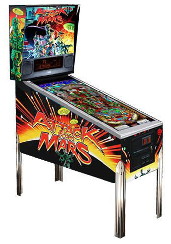 Attack from Mars pinball - Classic Pinball Collection