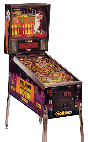 Big Hurt pinball - Classic Pinball Collection