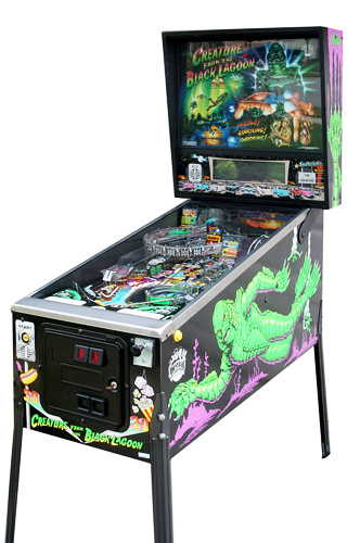 Creature from the Black Lagoon pinball - Classic Pinball Collection