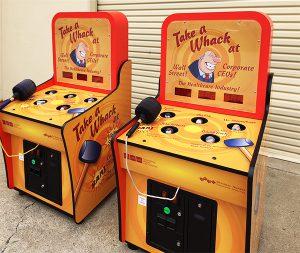 Custom Whack a Mole matching pair by Video Amusement