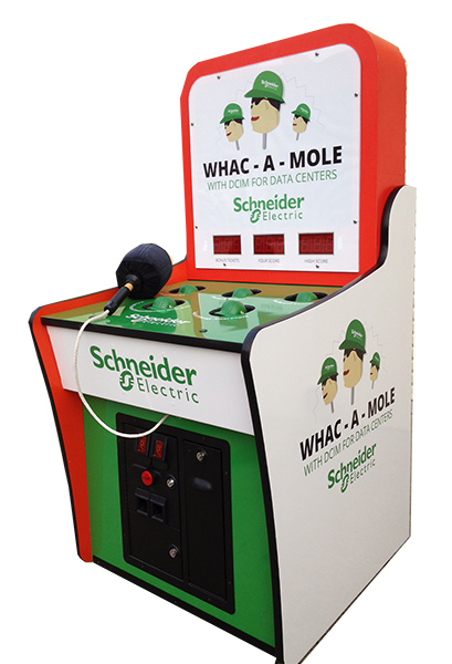 Custom Whack a Mole another sample of fine example by Video Amusement