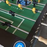 Detailed image of customized foosball table