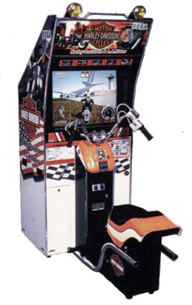 Harley Davidson Motorcycle Simulator rental from Video Amusement