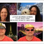 Sample layout #4 for the Green Screen Photo Booth