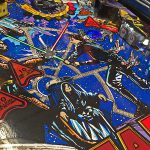This is original play field on Data East Star Wars pinball machine.