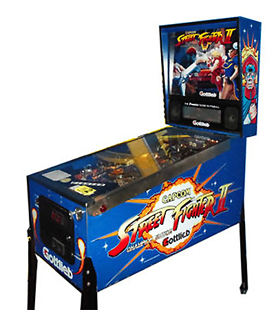 Street Fighter 2 pinball - Classic Pinball Collection-Street Fighter Pinball based on the popular fighting game.