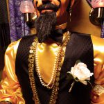 Zoltar fortune teller customized for wedding reception