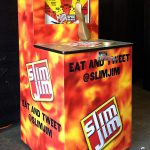 Carnival Midway Wrestler Arcade game with Slim Jim Custom Graphics