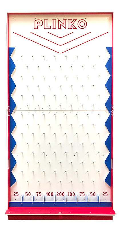 Plinko Game Board Carnival Rental from Video Amusement