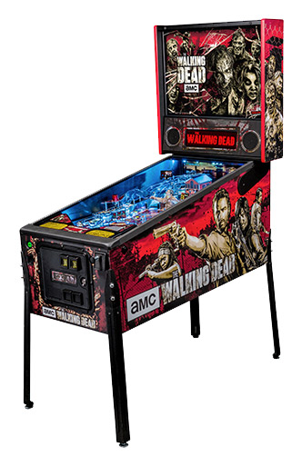 Walking Dead Pinball Machine is based on AMC most watched series