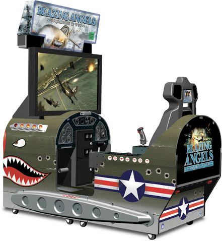 Blazing angels Squadrons of WWII rental game from Video Amusement