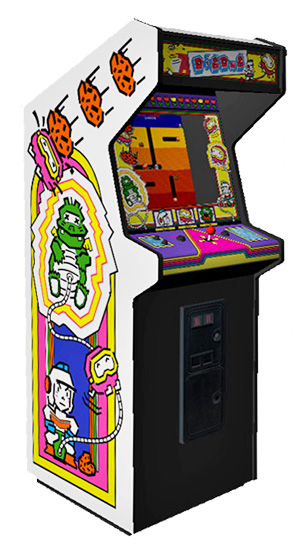 Dig Dug - Classic Arcade Game made by Atari available for rent