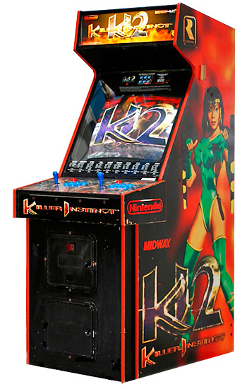 Killer Instinct - Classic Arcade Fighting Game from Video Amusement