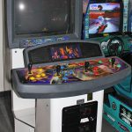Gauntlet Dark Legacy in showcase cabinet