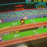 Track & Field original CRT monitor image