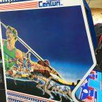 Original artwork Track and Field arcade