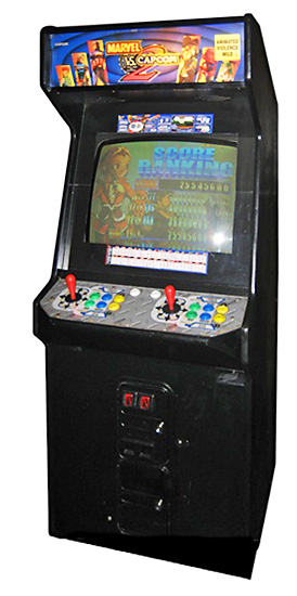X-Men vs. Street Fighter - Classic Fighting Arcade Game from Video Amusement
