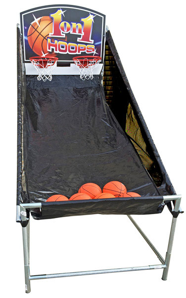 1 on 1 Hoops Electronic Basketball Game rental San Francisco from Video Amusement