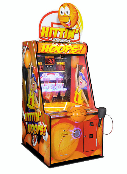 Hittin Hoops basketball arcade game rental San Francisco from Video Amusement