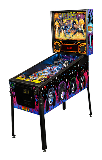 Kiss pinball machine table from Stern