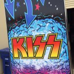 Kiss PRO pinball machine side artwork