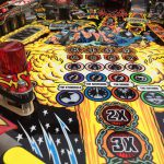 Kiss PRO pinball machine playfield artwork
