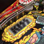 Kiss PRO pinball targets on the left side of the play field