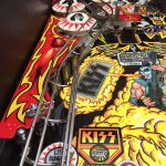 Kiss PRO pinball machine play field art