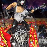 Kiss PRO pinball game detail of guitar player
