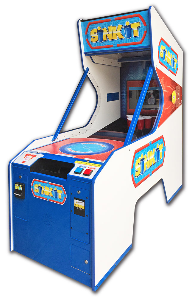 Sink it Shootout Arcade Game rental San Francisco from Video Amusement