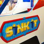 SinkIt arcade ready to be customized