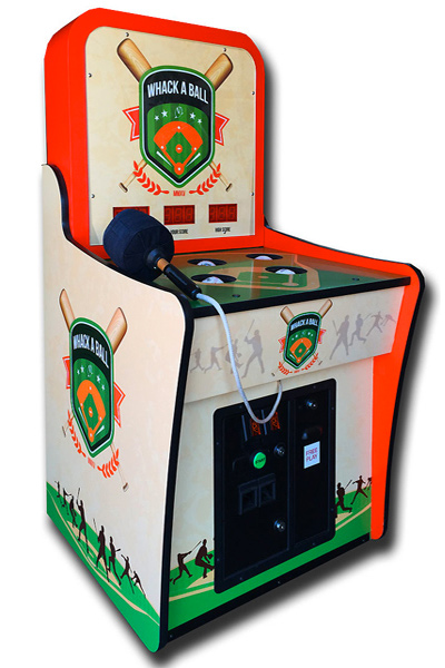 Customized sports themed Whacking game.