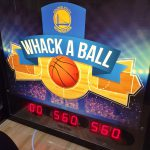 Whac a ball marque custom game