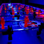 Giant LED Foosball Game Rental Bay Area Video Amusement