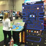 Giant Pac Man/ Galaga introduced by NAMCO
