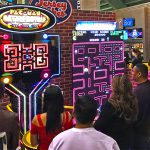 Our Giant Pac Man games at an event