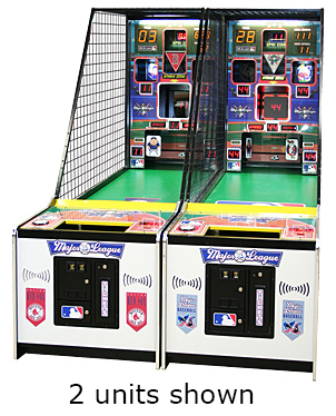 Major League Baseball game available for rent from Video Amusement