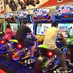 MotoGP motorcycle racing simulator at IAAPA 2015