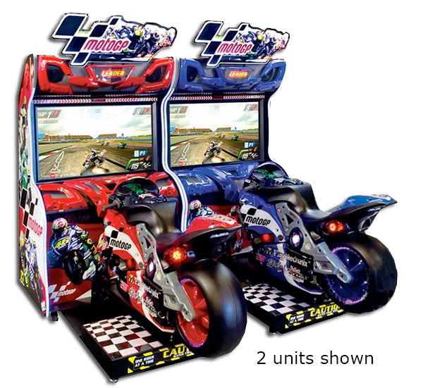 MotoGp Motorcycle Racing Arcade Video Game for rent San Jose Bay Area