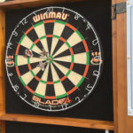 English Pub Steel Tip Darts Board for Rent Bay Area from Video Amusement