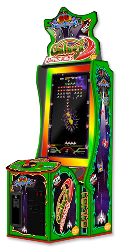 Giant Galaga Assault Arcade Game, New from Namco Galaga Assault arcade game