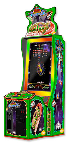 Giant Galaga Assault Arcade game rental San Francisco from Video Amusement