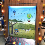 Giant Plinko Carnival Carnival Game Branded for Salesforce Rental Event exclusively from Video Amusement